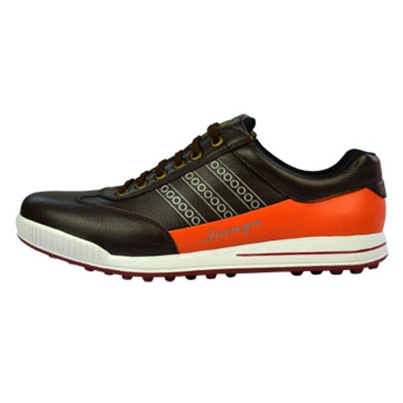 Здесь продается  2018 Sale Golf Grips Golf Shoes Men Waterproof Convenient Comfortable Knob System Genuine Spikers Screw Locking Device Sneakers   Спорт и развлечения