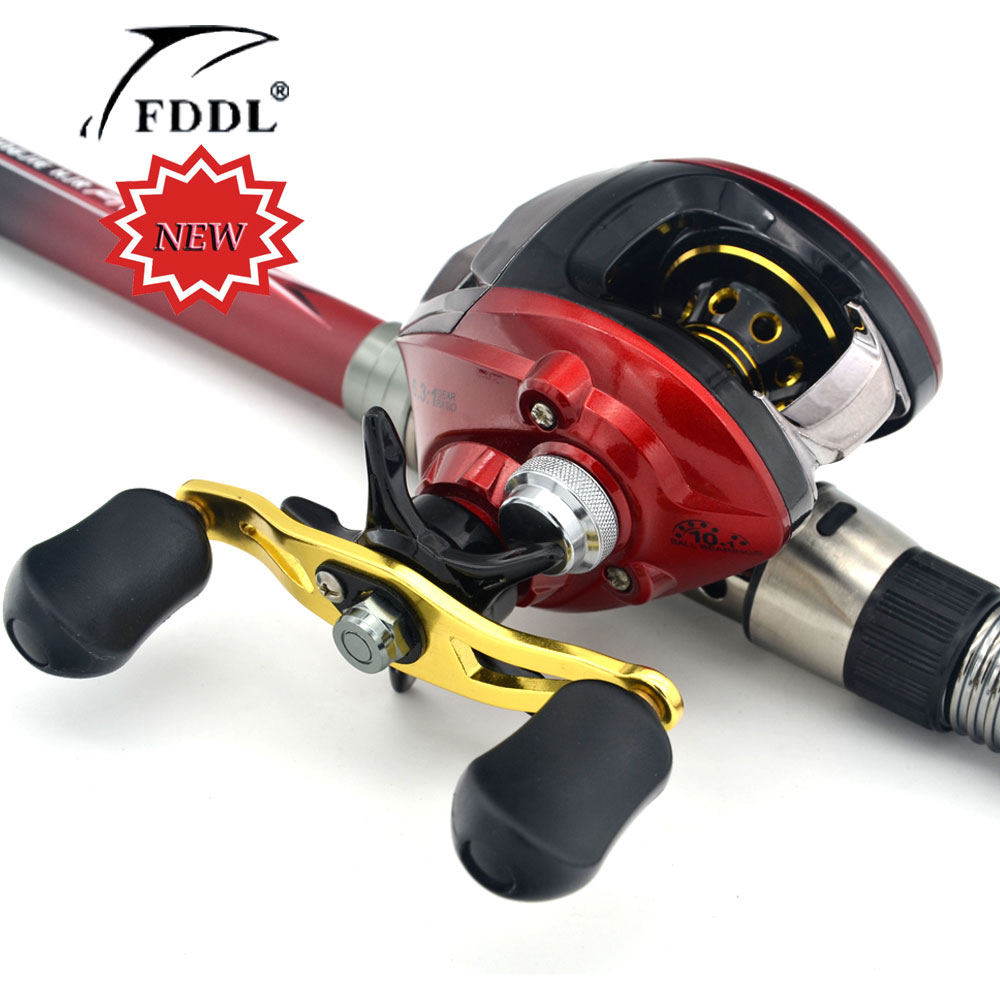 ФОТО New 10+1BB Ball Bearings Right/Left Hand Bait Casting Carp Fishing Reel High Speed Baitcasting Pesca 6.3:1 LP fly fishing