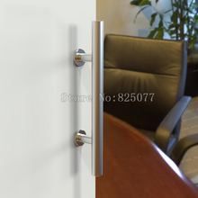 10PCS High quality stainless steel sliding barn door handle pull wood KF861