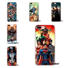 DC Comics Justice League Anime Silicone Shell Cover untuk OnePlus 3 T 5 T 6 T Nokia 2 3 5 6 8 9 230 3310 2.1 3.1 5.1 7 PLUS 2017 2018(China)