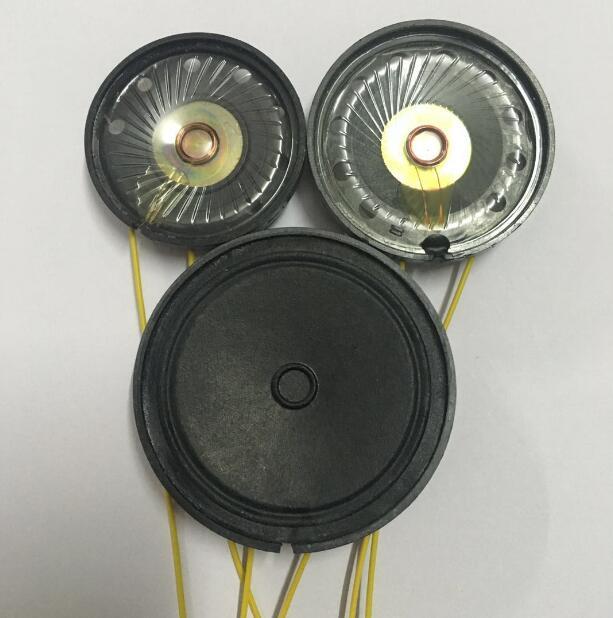 DIY Динамик с проводом 16Ohm 0,5 Вт внешнего магнитного Динамик 57 мм