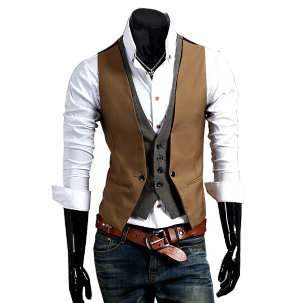 Online Get Cheap Mens Suit Vests for Sale -Aliexpress.com