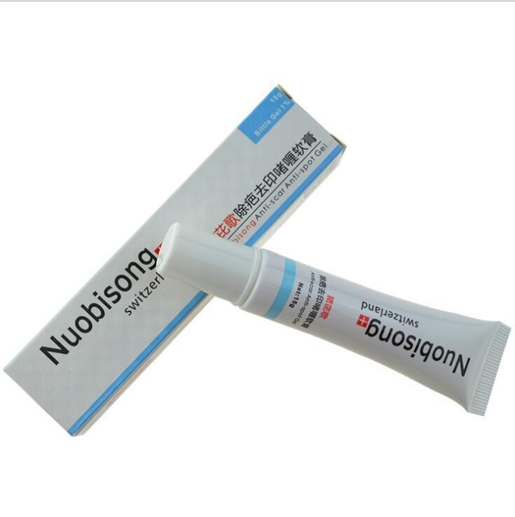 Nuobisong lanbena cara anti Manchas crema de tratamiento del acné cuidado de la
