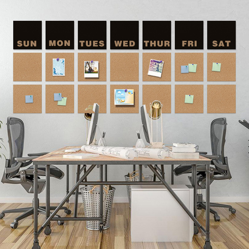 21pcs  set weekly planer calendars wall sticker decoration