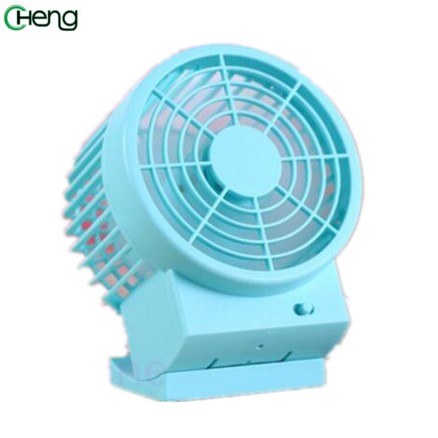 Mini Usb Summer Office Cool Portable Handheld Desktop Fan Double Blade Warm Electric Cooler Air