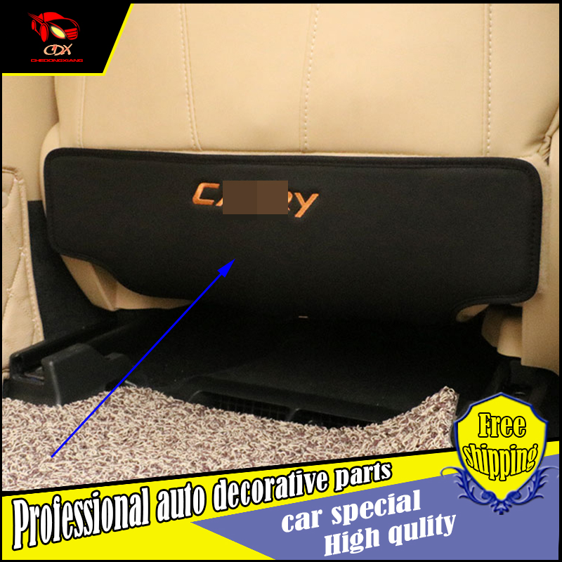 Car styling Seat Back Protector cover anti Kick Mat Mud For Toyota Camry 2012- 2016 Seat Rear Anti kick pad Scuff Dirt Protector