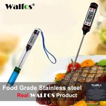 WALFOS Цифровой зонд, печь, термометр для мяса, Кухонный Термометр для барбекю, термометр для приготовления пищи, складной Зонд из нержавеющей стали, мясо, Турция