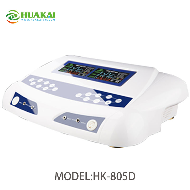 Dual Detox Machine with Wristbands and Waistbelts 2014 new free shipping dual display hk 809 with waistbelts machine for pedicure