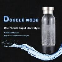 Hydrogen Rich Water Cup Ionizer Generator Hydrogen Water Bottle Electrolysis Antioxidants ORP Energy Healthy Glass Cloud Cup