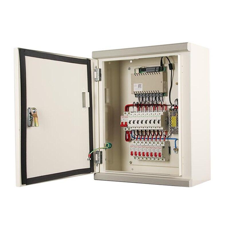 Distribution de puissance de contrôleur de relais à distance de réseau à la maison intelligente 8 sortie et entrée