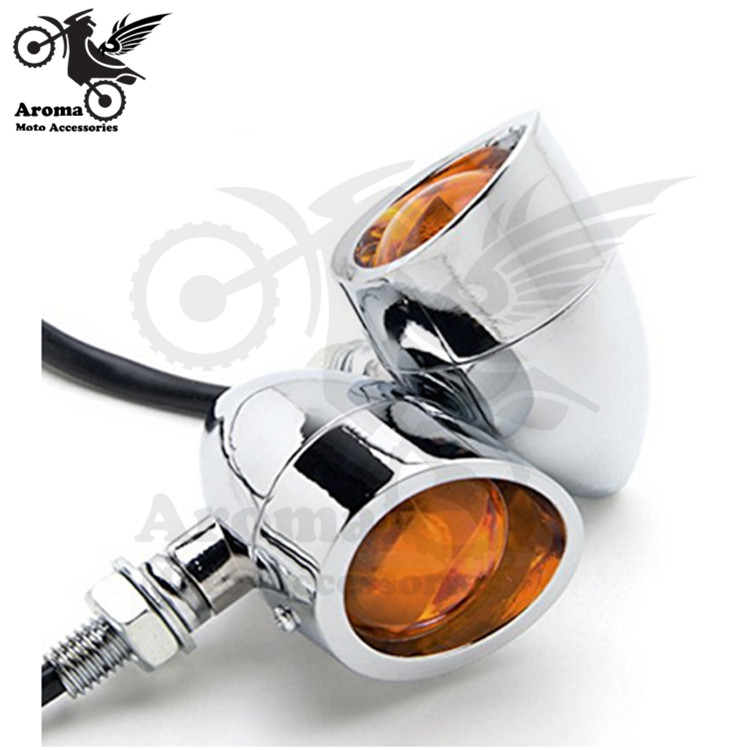 top quality harley flashers motorbike Turn signal light motorcycle LED for harley davidson Accessories Electroplate sliver hot