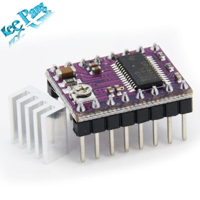 5pcs-lot 3D Printer Stepstick Drv8825 Stepper Motor Driver Reprap 4 PCB Board + Free shipping