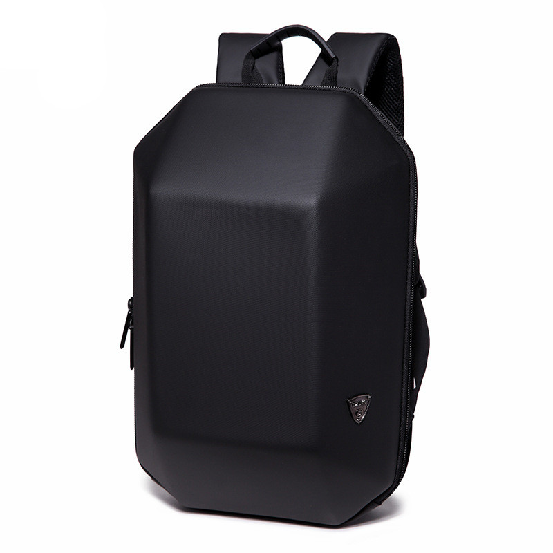 OZUKO Backpack Men Hard Shell Backpack Anti Theft Travel Bag Black Creative Alien Casual Laptop Teenage School Boy Waterproof