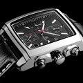 MEGIR новые случайные бренд часы мужчины горячие моды спорта наручные часы человек хронограф кожаный часы для мужчин световой календарь час