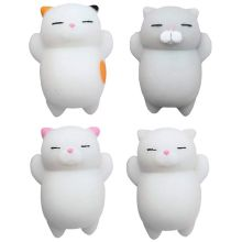 4 Pack Kawaii Squishies Toys Squishy Packages Animal Mini Stress for Kids and Adults (4 Pack)