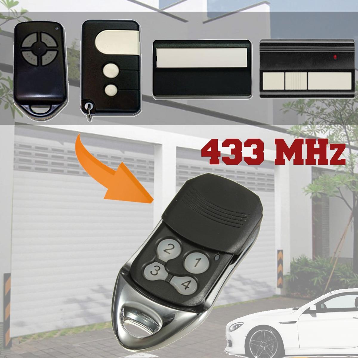 Reemplazo puerta de garaje CONTROL remoto 4 botones para LIFTMASTER 433 MHz