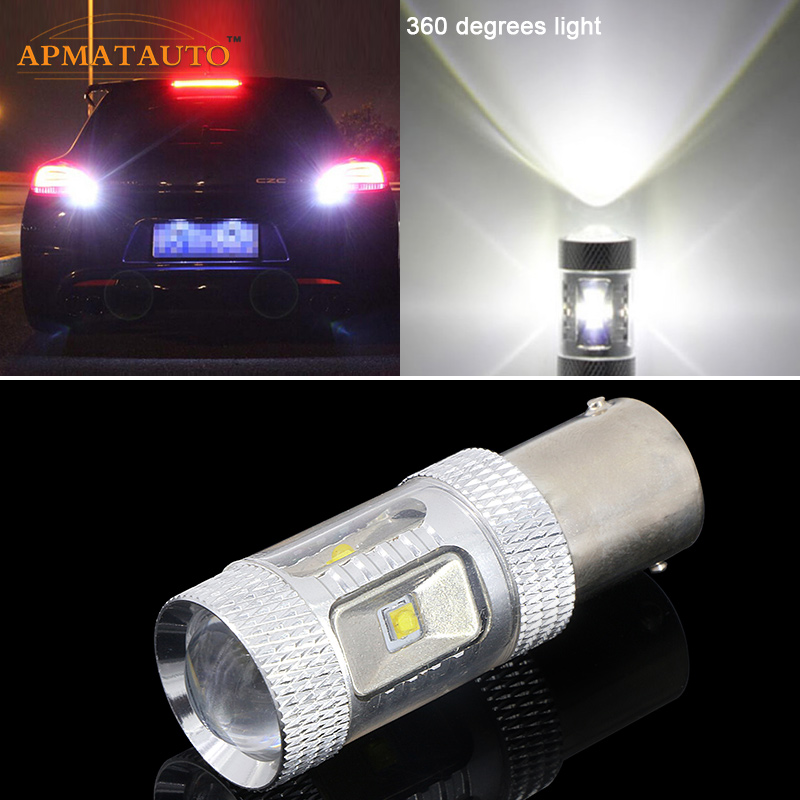 1156 Whie Canbus XBD μάρκες LED φώτα πίσω φώτων αυτοκινήτου για VW GOLF MK2 MK3 MK4 MK5 JETTA LUPO PASSAT TRANSPORTER T4 T5