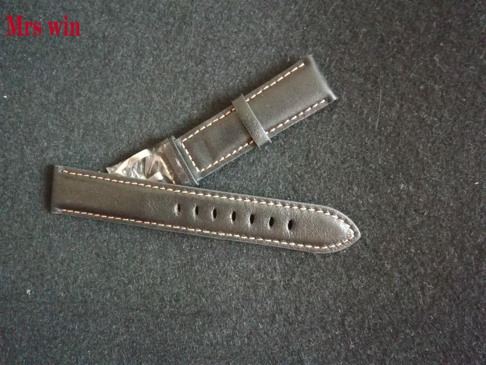 Prix pour Mme gagner En Cuir Poignet Bracelet pour T095 montre bracelet Fit T095.417 Montre Bande Homme 22mm Haute qualité bienvenue gros dropshipping