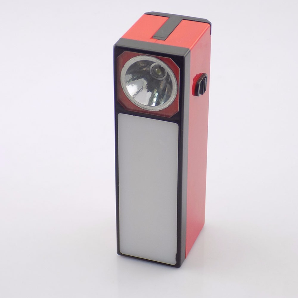 LED Solar lamp Emergency Outdoor Tent Lights 2 Modes Reading Flashlight Flash light Torch Lantern Red Color Portable Useful LED