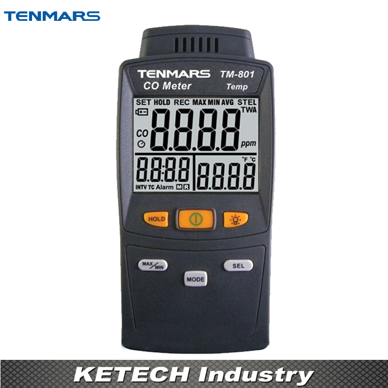 CO Carbon Monoxide Detector Tester Precision Gas Analyzer Tester TM-801