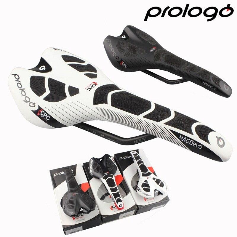 Prologo Original nouveau NAGO EVO CPC NACK RAIL route vélo selle cyclisme fibre de carbone vélo selle livraison gratuite