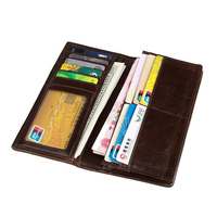 New Arrival Long Style Purse women Wallet Soft Leather With Card Case Wallet Leather