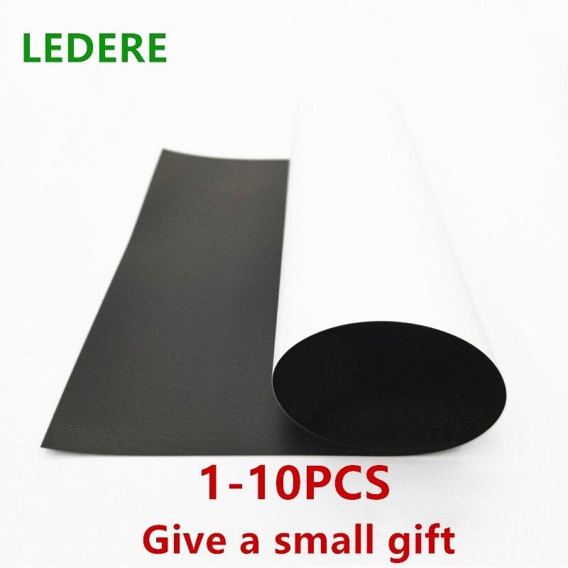 1-10Pcs/Lot A4 Magnetic Inkjet Printing Sheet Photo Paper Mate Finish Fridge Magnet цена