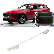 For Mazda CX-3 CX3 2015 2016 2017 2018 Exterior Stainless Steel Car Styling Outer Rear Bumper Plate Protector Guard Cover 1pcs