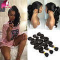 8A Indian Body Wave 360 Lace Frontal Closure With Closure Human Hair 360 Lace Frontal With Bundles Pre Plucked Lace Frontal 360