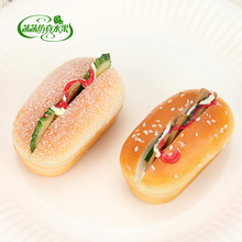 High artificial bread cheese sandwich cake model props