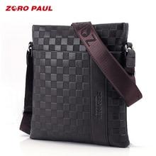 ZORO PAUL 2018 Brand Men Messenger Bag Male Leather Casual Crossbody Bag Business Mens Handbag Bags for gift Shoulder Bags Men