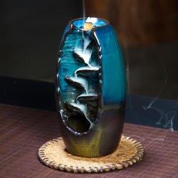Достаточный запас подарок 10 шт пирамидки благовоний курильница для благовоний горелка Керамическая Печь для ароматерапии Запах