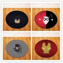 High-Quality-Super-hero-Carpets-Round-Ru