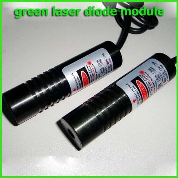 ФОТО 20mw 532nm Dot green laser diode module 10x60mm DC3-4V