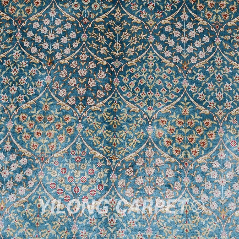 Yilong 6'x9 'дываны ручной працы - Хатні тэкстыль - Фота 5
