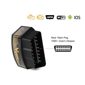 Image 3 - 10 teile/los Vgate iCar Pro Bluetooth 4.0/3.0/WIFI OBD2 Scanner Für Android/IOS Ulme 327 Auto diagnose Werkzeug ELM327 V 1,5 Code Reader