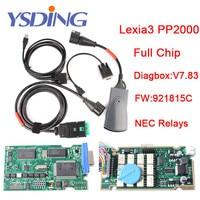 Best Lexia 3 Full Chip Lexia3 V48 V25 Newest Diagbox V7 83 PP2000 Lexia 3 Firmware