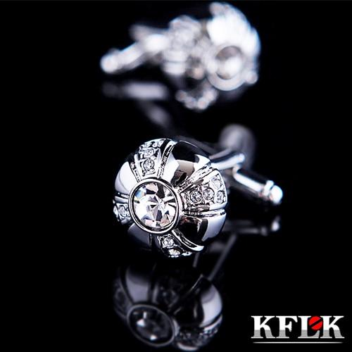 3 kolory KFLK 2020 luksusowa koszula spinki do mankietów mężczyzna - Modna biżuteria - Zdjęcie 2