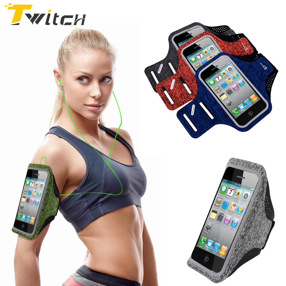 Dirt-resistant Hand Bag <font><b>Running</b></font> Arm Band Leather Case For Samsung iPhone 5 6 7 8 Mobile <font><b>Phone</b></font> <font><b>Holder</b></font> Pouch Belt Cover 6 inch