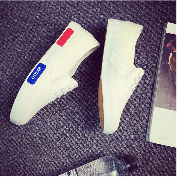 Free Shipping Spring and Autumn Men Canvas Shoes High Quality Fashion Casual Shoes Low Top Brand Single Shoes Thick Sole 7583 -  -  -  -  (4) -