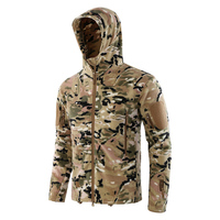 Tactical fleece jacket men warm Antistatic Winter Spring outdoor clothes sports Camouflage Climbing hiking hunting jacket Male