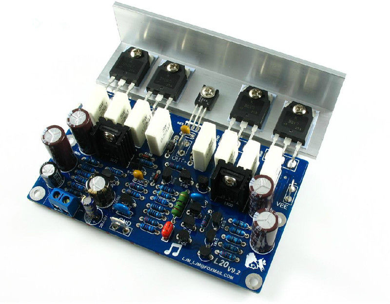 Nobsound LJM 2.0 channel Power amplifier board With Angle Aluminum 200W 8R цена