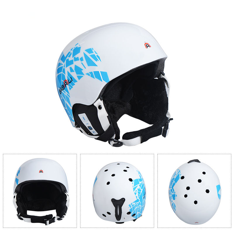 MOON Music Skiing Helmet Men Women PC EPS Ski Helmet Bluetooth Technology Outdoors Sports Snowboard Protective