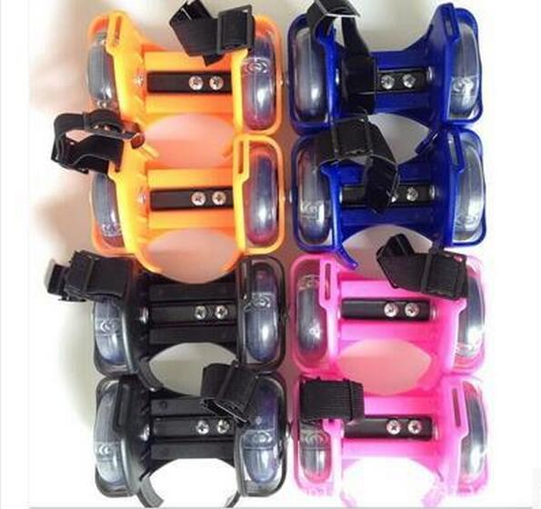 Wholesale For Children Flashing Roller Small whirlwind pulley flash wheel Skate Shoes Flashing Roller shoes