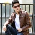 Новая зимняя мужская пальто PU кожаная куртка плюс кашемир кожа мужские куртки и пальто куртка chaqueta hombre