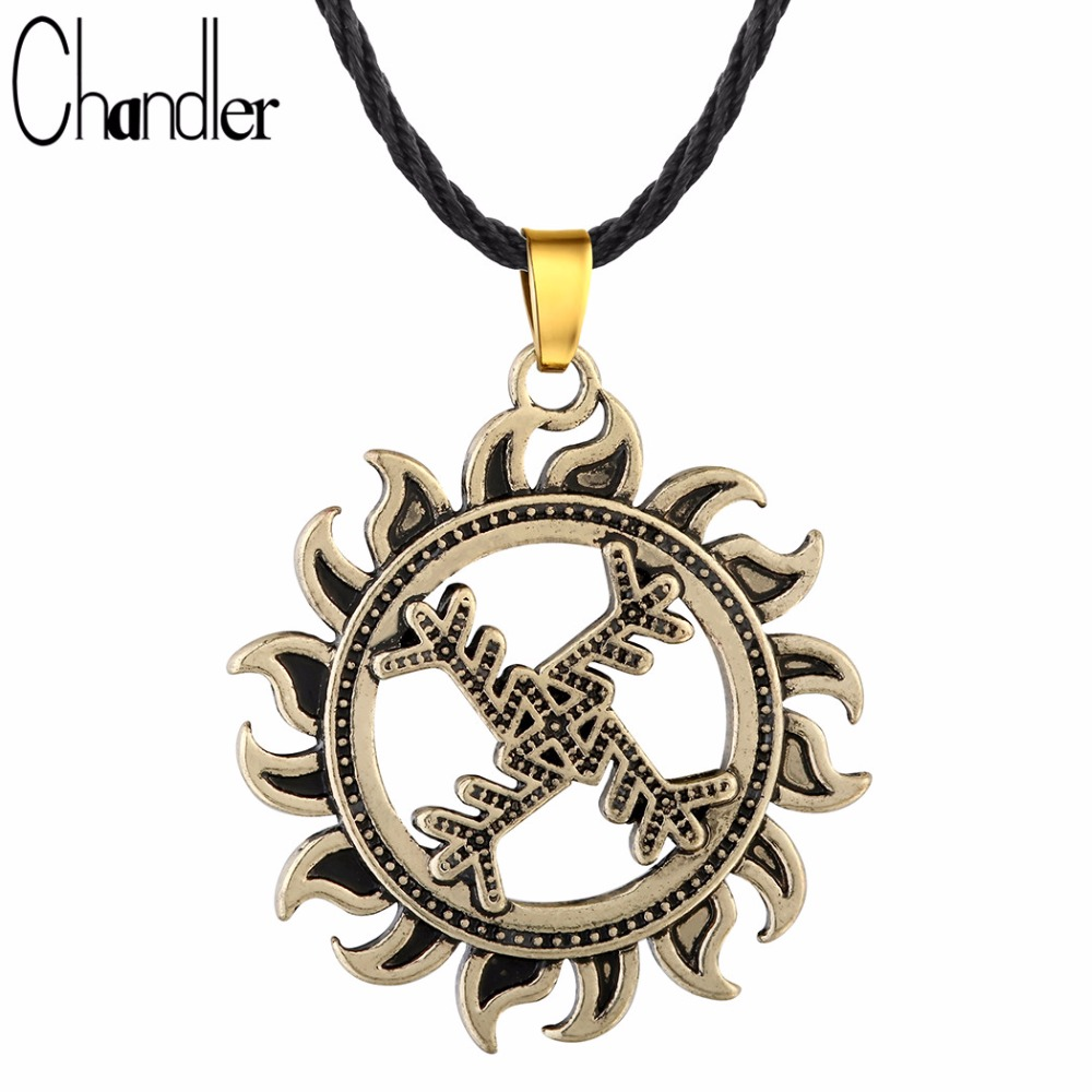 Online buy wholesale luck of life from china luck of life chandler swastika whirling log pendant necklace for women men good luck symbol gammadion svastika wheel of buycottarizona