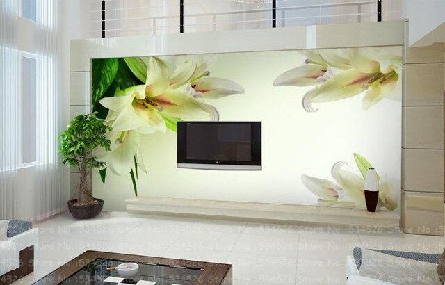 Luxe foto wallpaper muurschilderingen tv sofa achtergrond