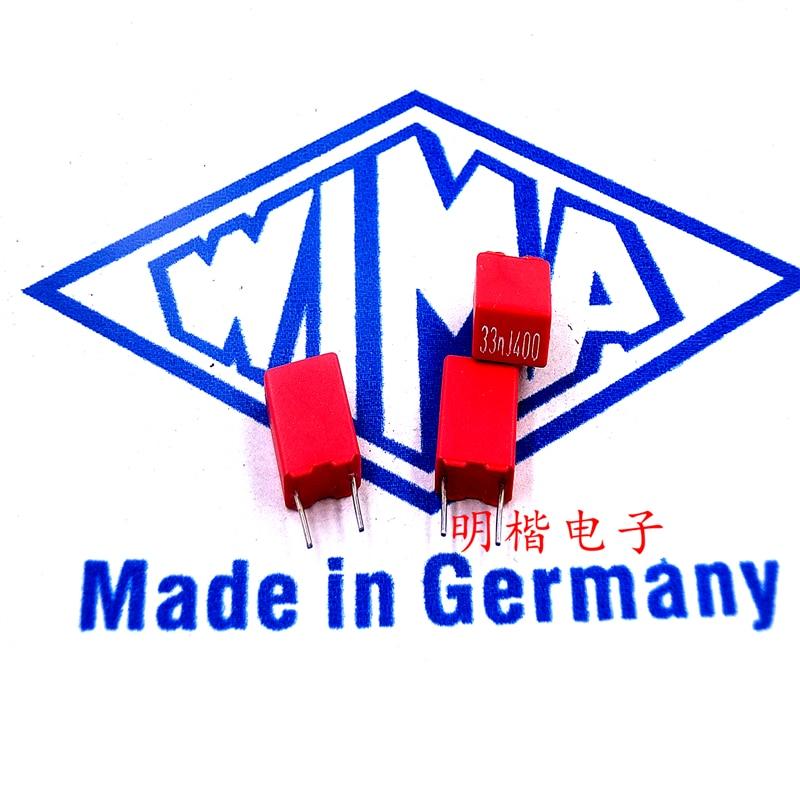 2pcs For WIMA FKP2 100V 100pF 0.1nF Audio Crossover Non-Polarity Capacitor