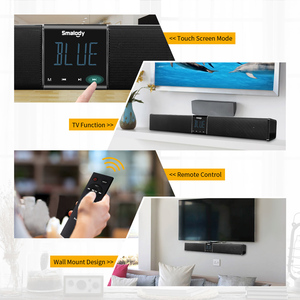 Image 2 - Smalody Home Theater TV Soundbar 20W Bluetooth Speaker 4400Mah Portable Bass Wireless Subwoofer With Remote Control LCD Display