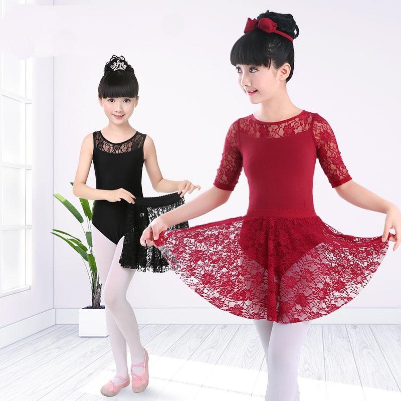 Lányok táncruhák Pamut táncos boksz balett szoknya Romantikus - Újdonság